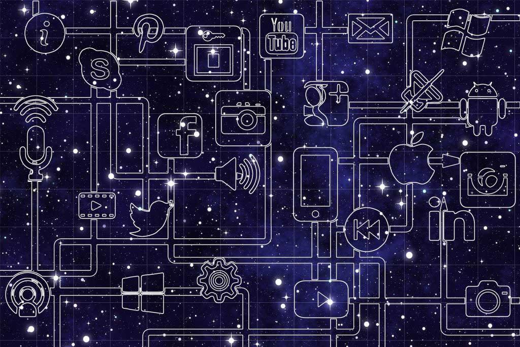 Network mit Social Media